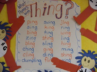 Kindergarten Free Idea:  Dr. Seuss rhyming idea.