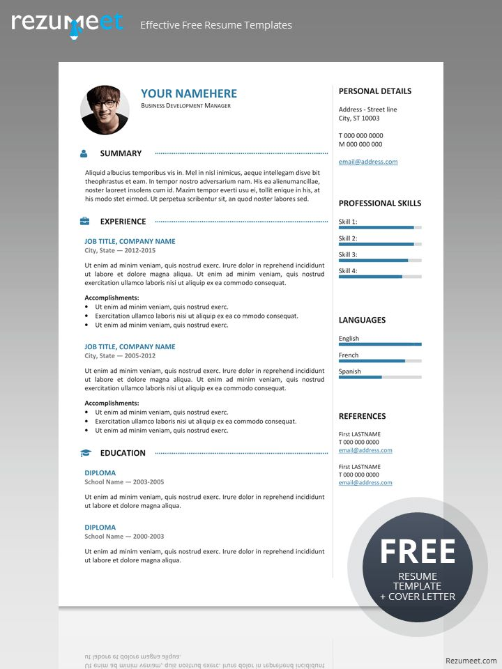 126 best Classic resume templates images on Pinterest Resume - clean resume templates