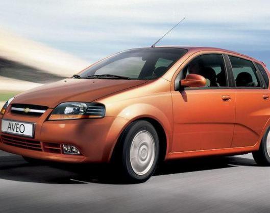 Aveo Hatchback 3d Chevrolet usa - http://autotras.com