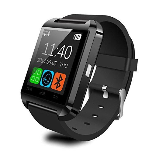 U-watch,Pandaoo® U8 Smart Watch Phone Mate with Sync/Bluetooth 4.0/Anti-lost Alarm for Apple iphone 4/4S/5/5C/5S Android Samsung S2/S3/S4/Note 2/Note 3 HTC Sony-Black Pandaoo http://www.amazon.com/dp/B00XKLE1RO/ref=cm_sw_r_pi_dp_KUj-vb14RG727