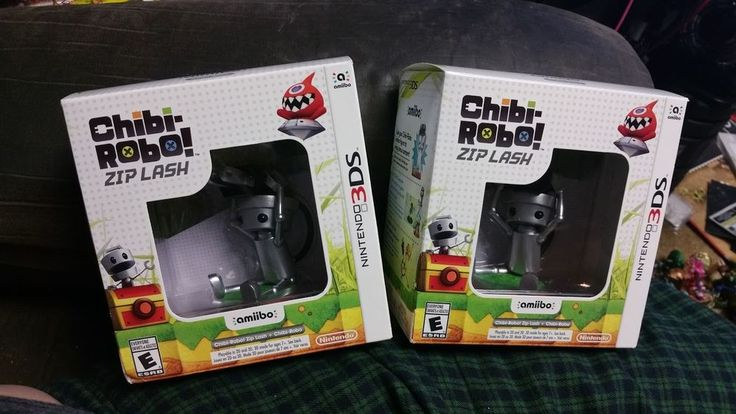 Chibi-Robo!: Zip Lash with Chibi-Robo amiibo bundle - Nintendo 3DS Bundle New #NotApplicable