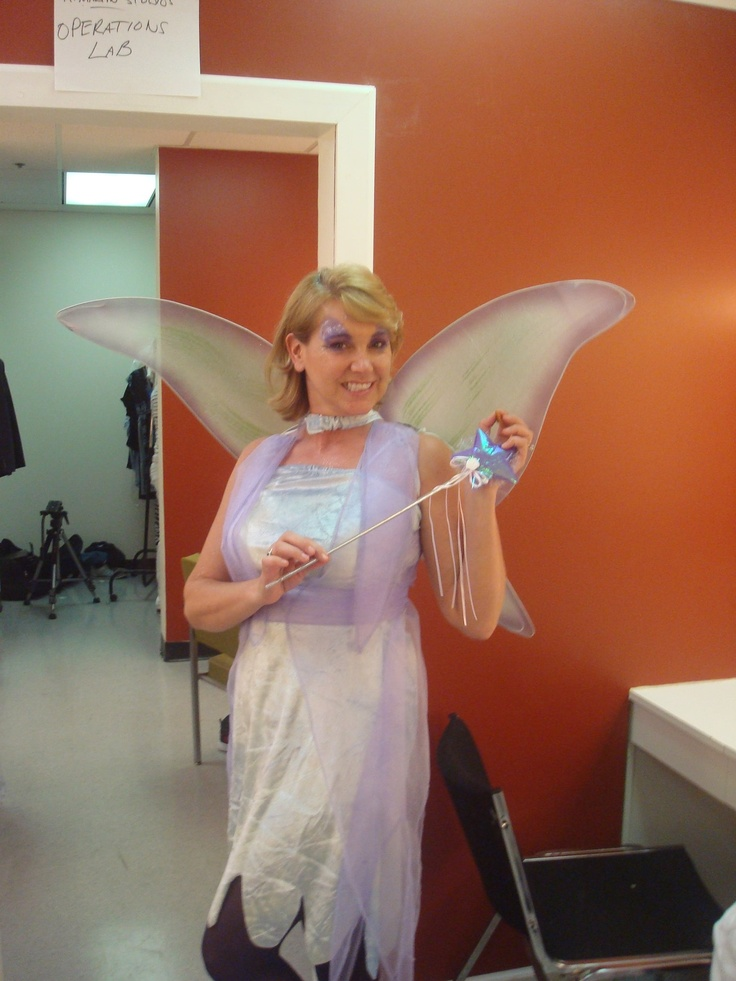This is Becky Taylor, we were to share the role of Fairy Godmother but gas prices killed any chance of me traveling to Atlanta that many times. I believe she made a Great Fairy Godmother, don't you? I'm so sorry I missed the fun but I'm really glad I got to know this talented lady.