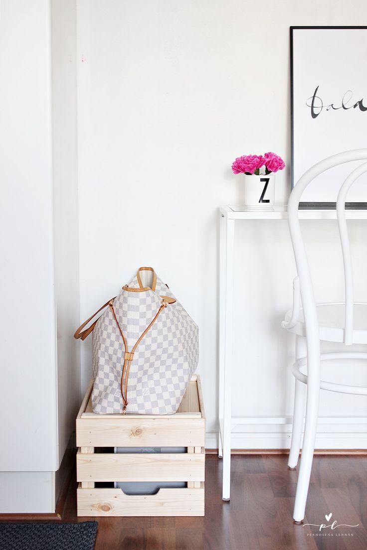 Työpöytä desk homeoffice kotitoimisto ikea vittsjö table  ylva skarp balance design letters louis vuitton never full azur