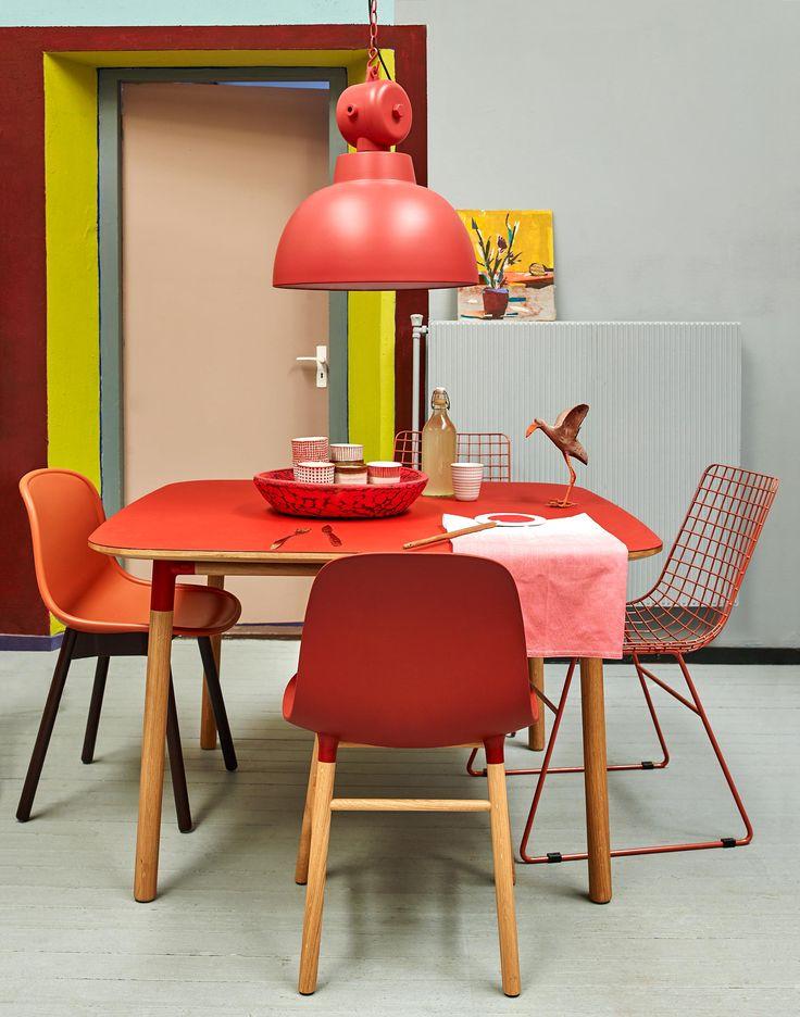 kleurrijke eetkamer | colorfull diningroom | vtwonen 10-2016 | photography: Tjitske van Leeuwen | styling: Marianne Luning