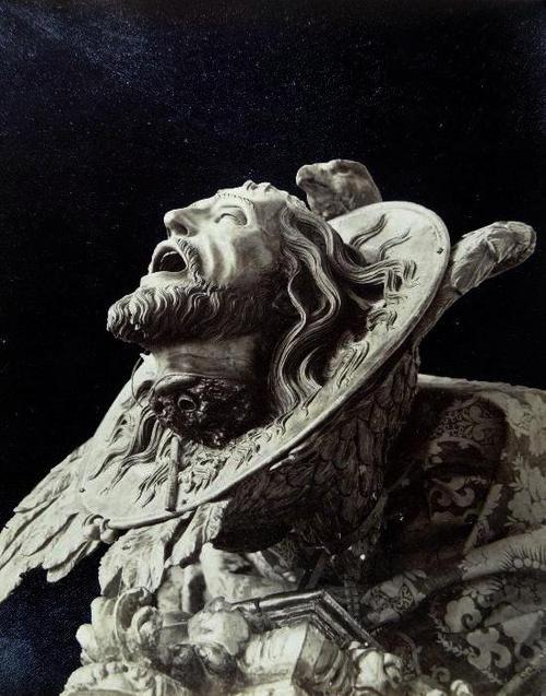 Head of Saint John the Baptist Sculptor: Alonso Cano (1601-1667) Granada Cathedral, Spain [Vintage postcard, ca. 1908]