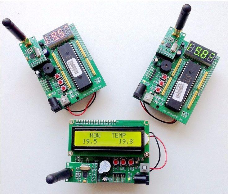Fast Free Ship 1 set include 3pcs STC89C52 wireless development board NRF ZigBee teaching smart home Starter Kit