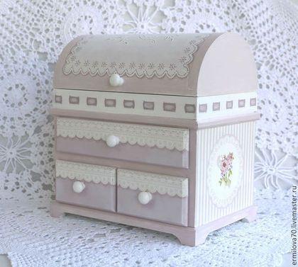 Комодик - комодик,мини-комодик,мини-комод,для украшений,для спальни,для девочки