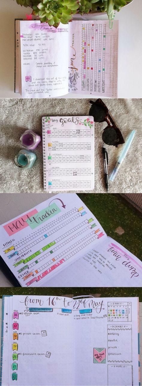 My bullet journal on https://samanthacarraro.wordpress.com/2016/06/30/bujo-update-july-plan-with-me/ | Bujo