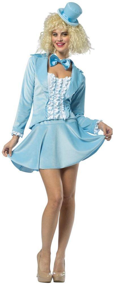 Blue Dumb and Dumber Harry Dunne Adult Tuxedo Dress for Women