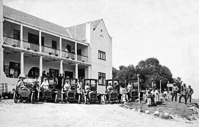 The Beach Hotel, Hout Bay c1910  Renamed The Chapmans Peak Hotel in 1961| Flickr - Photo Sharing!