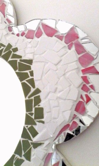 Close up of my mosaic .. I would love to hear what my fellow pinners think ...please comment....AOX