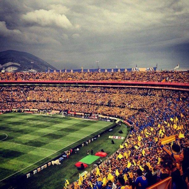 Uno de mis sueños era ir a ver a mi equipo favorito de fútbol a su estadio y lo eh cumplido