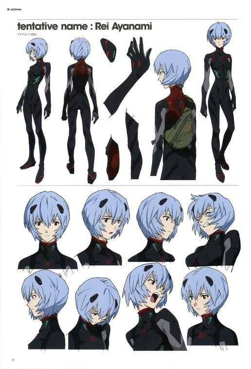 Neon Genesis Evangelion (Rei Ayanami)