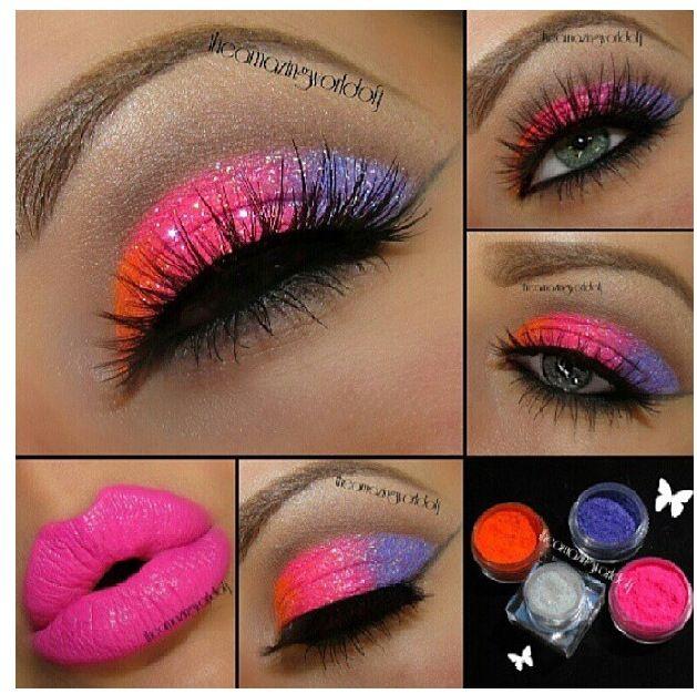 .80's makeup inspiration