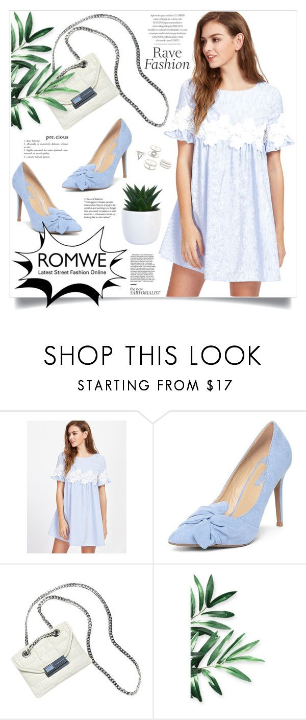 """""""ROMWE"""" by itsybitsy62 ❤ liked on Polyvore featuring Dorothy Perkins, Hayden-Harnett and Charlotte Russe"""