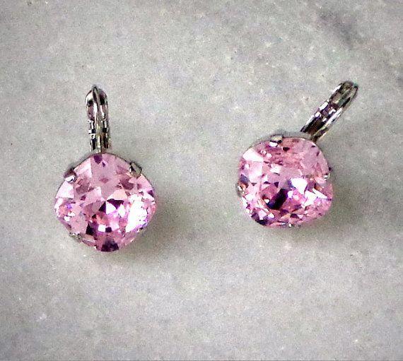 Swarovski crystal 12mm square fancy stone by CrystallizedByLena, $25.00