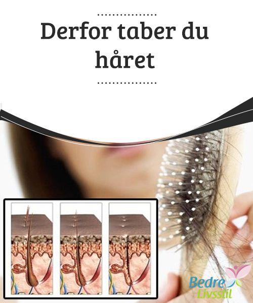 Derfor taber du håret  I de fleste #tilfælde vil dit hår gro ud helt #naturligt, når du har #fundet det #underliggende problem.