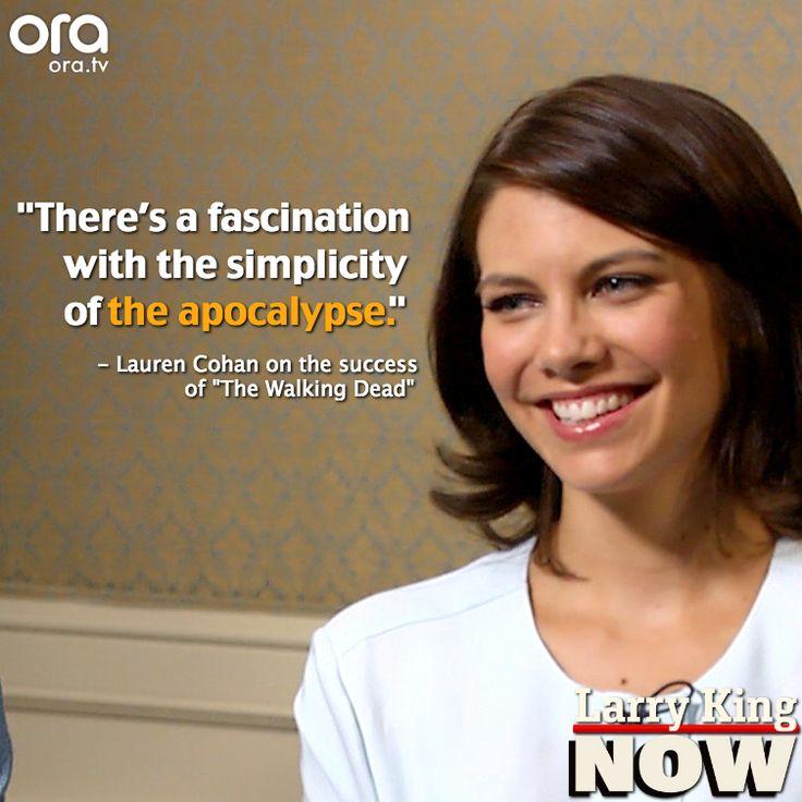 Lauren Cohan Quotes. QuotesGram