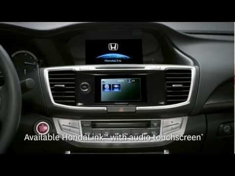 2013 Accord - All-new HondaLink™