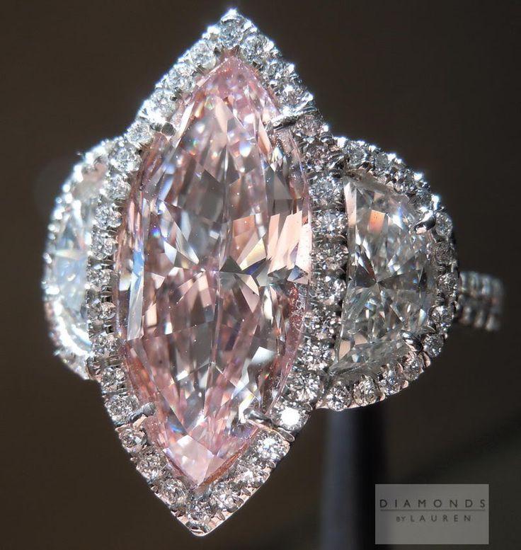 I LOOOOOVE THIS RING OOOOH YESSSS I DOOOO I DOOOO   Pink Diamond Ring | Fancy Pink Diamond Ring | Million Dollar Ring....Yesssss