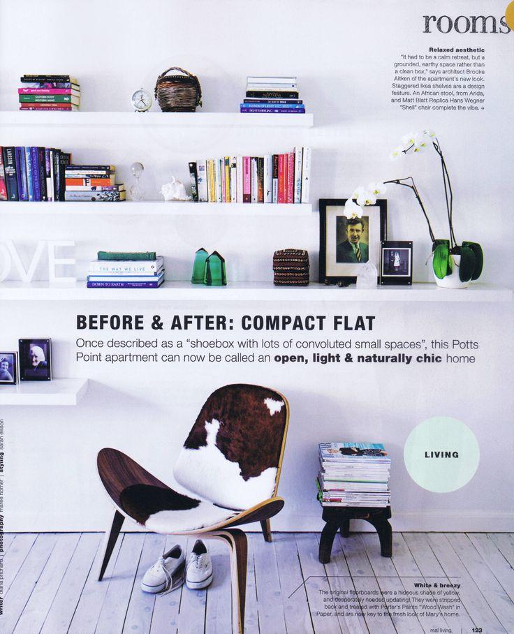 Real Living January/February 2014 Pg 2 Brooke Aitken Design
