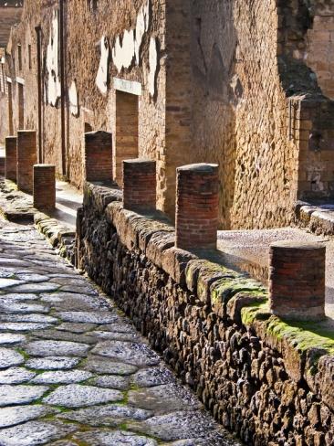 Herculaneum Ruins, Near Naples, Campania, Italy