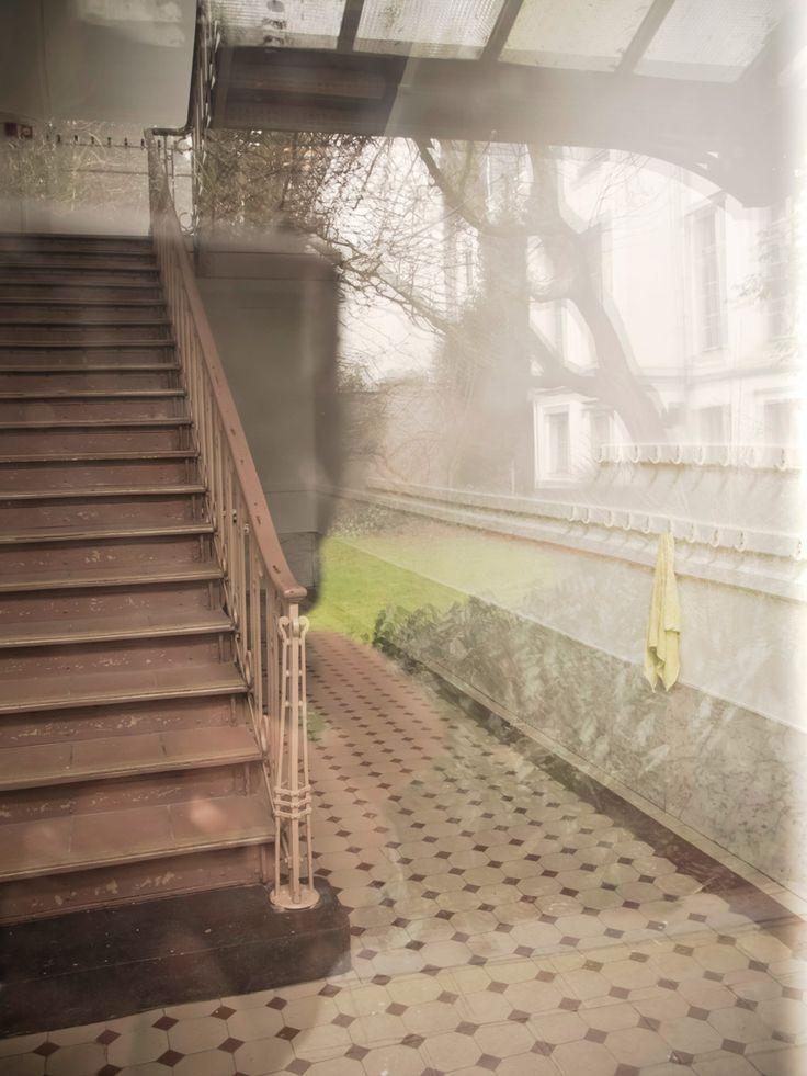 Interior I Photography by Frank Brandwijk I 'Bed & Breakfast' 'Belgium Antwerp' I 'Hall Stairs Reflection'