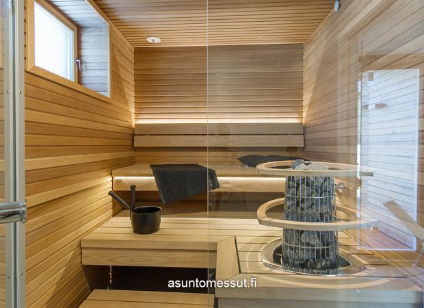 Valmisjukka Trendo - Sauna | Asuntomessut