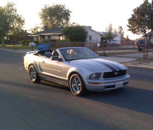 2005 Ford Mustang -  Littlerock, CA #9572712450 Oncedriven