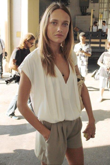 Karmen Pedaru #model. LOVE this outfit.