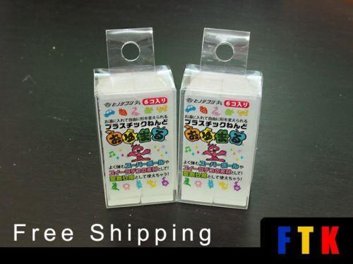Oyumaru-Reusable-Molding-Bar-same-usage-as-Instant-Mold-Color-Clear-x-12pcs