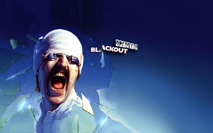 Scorpions Blackout Cover Album Blue Music Wallpaper