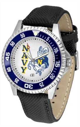 Navy Midshipmen Competitor Men's Watch by Suntime