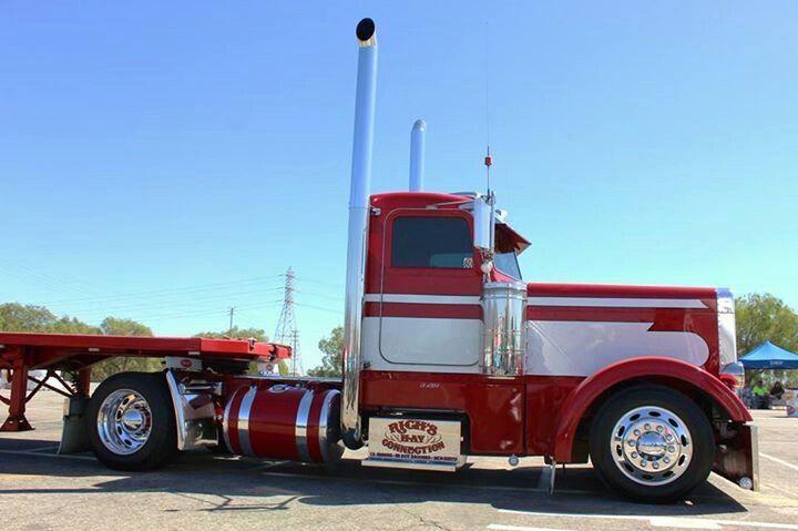 Little Pete daycab | Show and shine trucks | Trucks, Big ...