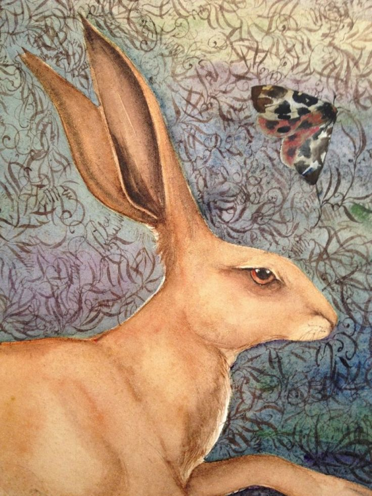 detail Jackie Morris - Song of the Golden Hare