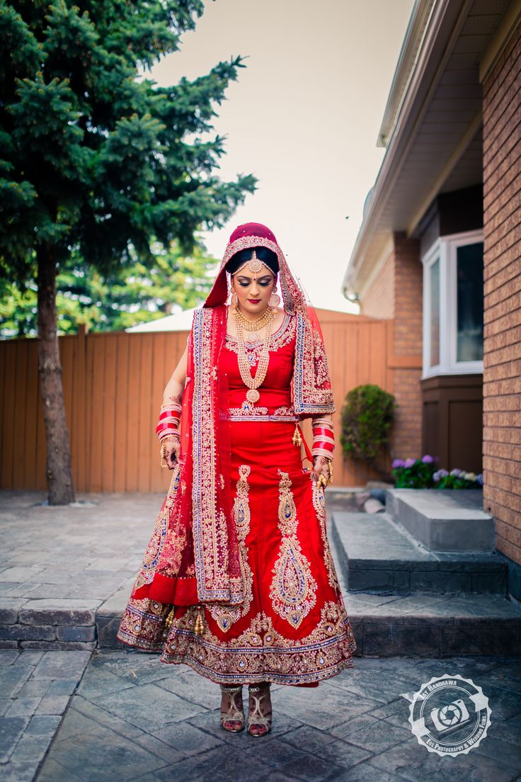 Flawless Indian bride