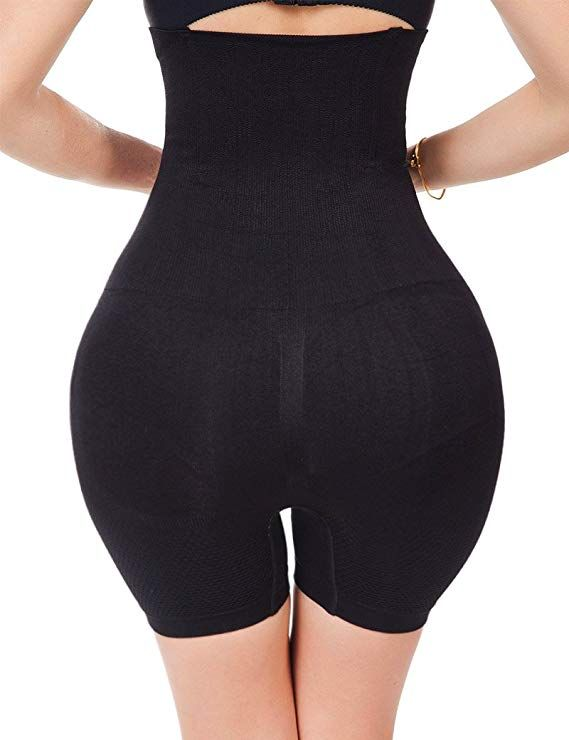 0596786374451 Women s High Waist Ultra Firm Control Tummy Body Shaper Panty Seamless  Smooth Thigh Slimmer Body Shorts Shaping Brief Shapewear Control