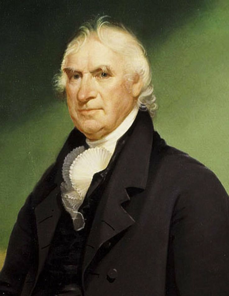 VICE PRESIDENT GEORGE CLINTON served as vice president under Thomas Jefferson from 1805 to 1809 and James Madison from 1809 to 1812, when he died in office.