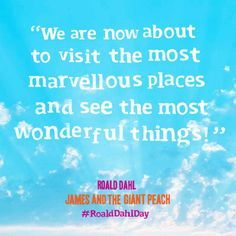 RoaldDahl, James and the Giant Peach # quote # quotes #inspiringquotes ...