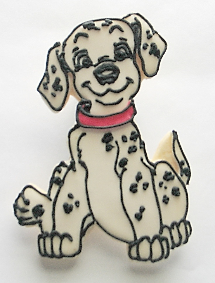 101 Dalmatians Cookies Rolling Pin Productions