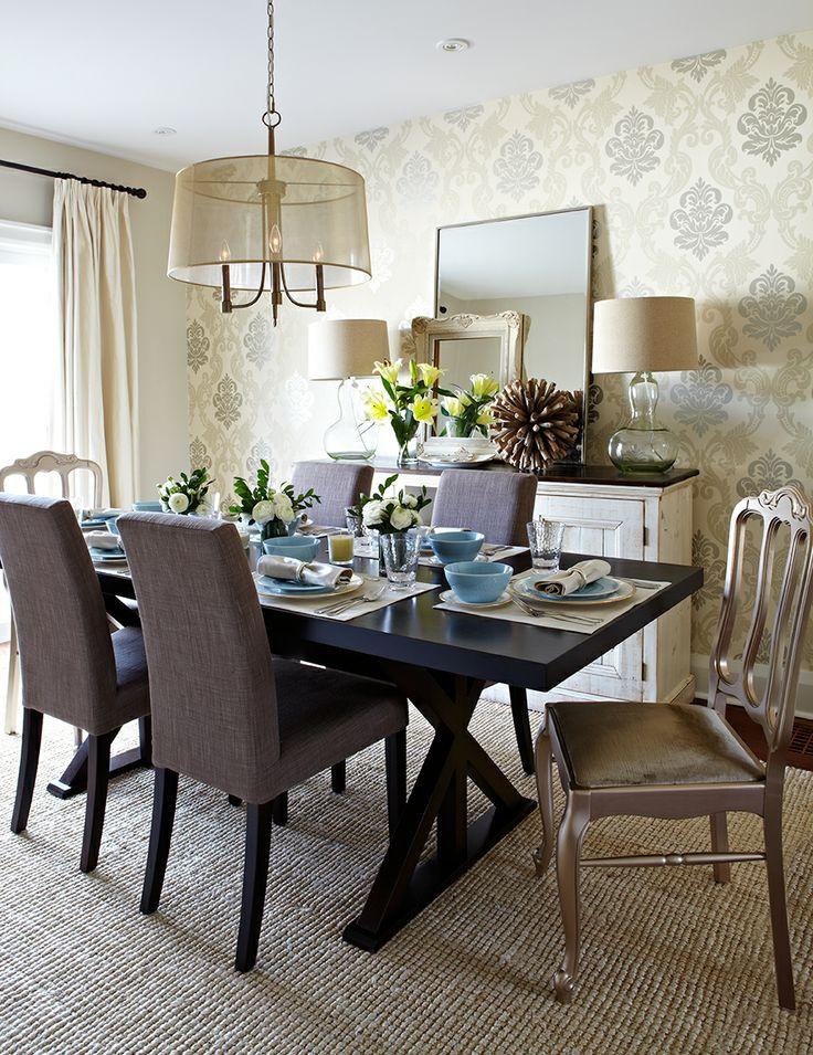Bingham Ave. Dining Room--Jennifer Simon Design