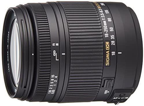 Sigma 18 250mm F3 5 6 3 Dc Macro Os Hsm For Canon Digital Slr Cameras In 2021 Canon Digital Slr Camera Digital Slr Camera Nikon