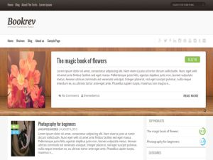 BookRev Lite Wordpress Theme is unique and well crafted WordPress theme designed for book reviews. It will allow you to review any book and allow users to leave their feedback about these books as well and your can...