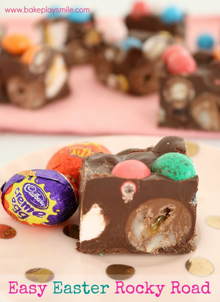 Easy Thermomix Easter Rocky Road | Bake Play Smile
