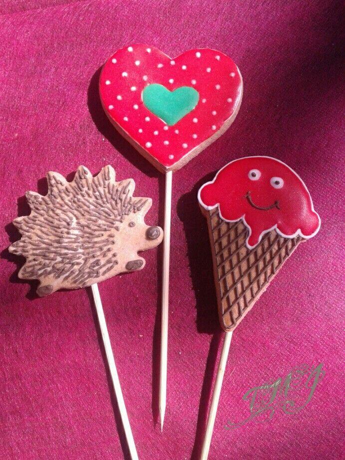 Gyereknapi mézeskalács meglepetés. Childrensday gingerbread present by TMJcreative.