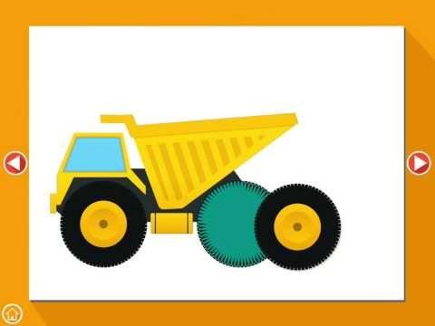 Trucks & Vehicles Kids Puzzles