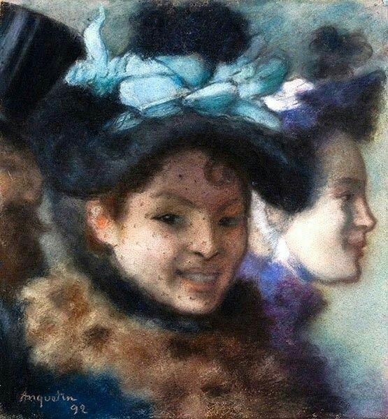 Луи Анкетен «Две женщины»