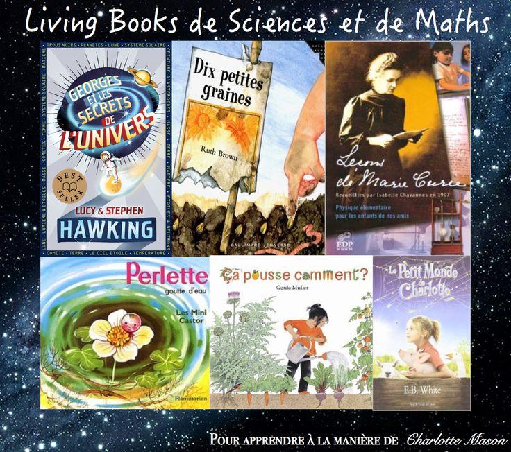 petits homeschoolers: Charlotte Mason: liste de living books de sciences...