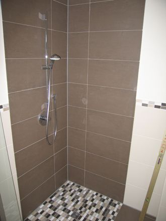 Dusche Fliesen Neues Bad Kleine B 228 Der Creme Materialien