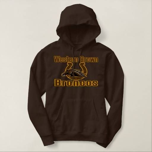 (Western Brown Broncos Ohio Hooded Sweatshirt) #Broncos #Brown #Ohio #Western is available on Funny T-shirts Clothing Store   http://ift.tt/2g8KChp